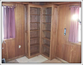 Custom Cabinets & Shelves Outagamie/Winnebago Wisconsin