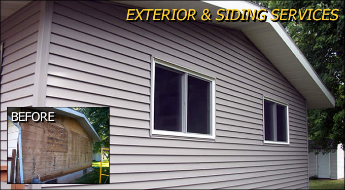 Exterior and Siding Installation Construction Outagamie/Winnebago Wisconsin