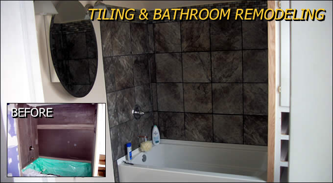 Tiling and Bathroom Remodeling Outagamie/Winnebago Wisconsin