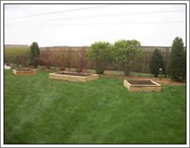 Raised Flower Beds & Gardens Outagamie/Winnebago Wisconsin